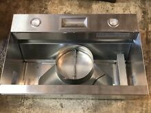 Thermador Professional 36  Stainless Steel Custom Hood Insert Vcin 36JP