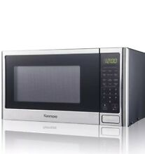 Kenmore 73773 0 9 cu  ft  Microwave Oven   Stainless Steel NEW Open Box