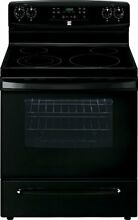 Kenmore 5 7 cu  ft  Self Clean Electric Range in Black  includes delivery and ho