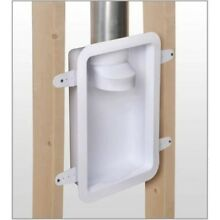 Wall Recessed Laundry Dryer Tubing Exhaust Vent Box Duct Reduce Lint Durable New
