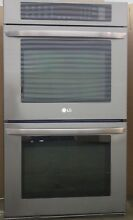 LG 30  Double Electric Wall Oven Convection LWD3063BD  Black Stainless