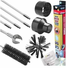 Dryer Vent Duct Cleaning System  Lint Brush   Dryer Adapter Gardus LintEater Kit