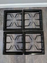 Jenn Air Downdraft Gas Cooktop Stove Grill Grates Black Set Of 4