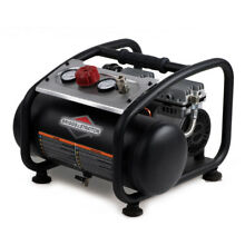 Briggs   Stratton Briggs   Stratton 3 Gallon Quiet Portable Electric Air Compres