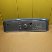 Kenmore Elite Washer Control Panel PACIFIC BLUE W10034440  1202502