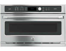 CSB9120SJSS GE Cafe 120V Advantium Wall Oven 4 in One Use Micro Convect Speed
