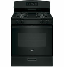 GE Appliances JGBS60DEKBB 30  Freestanding Gas Range   Black 38470469 38470469