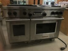 Wolf Range 48  Griddle Natural Gas with Dual Oven