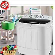 Washer And Dryer Combo For Apartment RV Portable Washing Machine Top Loading