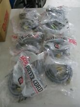 BOX OF 12 NEW Carol 3 ft Dryer Cord 05653 3 Conductors 3 10 SRDT 30 amp