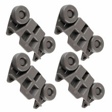 4 Dishwasher Lower Rack Wheel for Kenmore 66513259K111 66513262K112 66513263K113