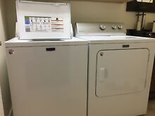 MAYTAG CENTENNIAL COMMERCIAL WASHER AND DRYER  10 YEAR WARRANTY