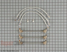 Genuine GE General Electric Defrost Heater Assembly WR49X5086  WR49X390 NEW