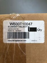 WB30T10047 for GE Range Glass Smooth Top Burner Element AP2027789 PS243905