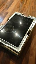 WOLF MODEL CT30E S 30  TOUCH CONTROL ELECTRIC COOKTOP BLACK WITH STAINLESS TRIM