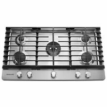 KitchenAid 36  Stainless Steel 5 Burner Gas Cooktop  KCGS556ESS