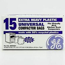 WX60X1 For GE Trash Compactor Bags