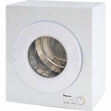 Electric Dryer Compact Machine 2 6 cu ft  Home Indoor Laundry Clothes Furniture