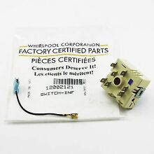12002121 For Whirlpool Range Stove Surface Element Switch