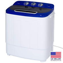 Portable Compact Lightweight for Apartment Dorm Twin Tub Laundry Washing Machine
