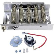 279838 Dryer Heating Element And 279816 Thermostat Kit For Whirlpool