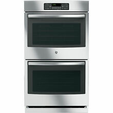 GE Appliances JT3500SFSS 10 0 cu  ft  Electric Double Wall Oven   Stainless
