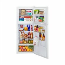HAIER FrostLess 9 5 Cub Refrigerator   Top Freezer White  See Detail Description