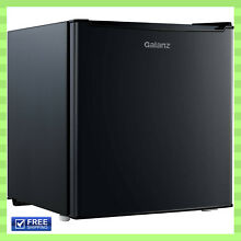 Compact Single Door Freezer Mini Fridge Refrigerator Black 1 7 cu ft