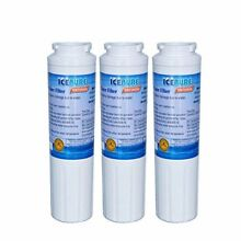 3 Pack Replacement Refrigerator Water Filter for Maytag Whirlpool KitchenAid