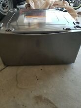 LG WDP5V 29  Washer   Dryer Laundry Pedestal with Storage Drawer Stainless