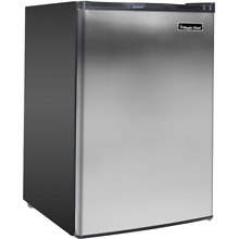 Magic Chef 3 Cu  Ft  Upright Freezer with Stainless Steel Door