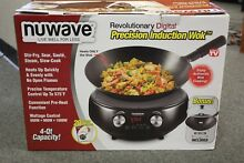NuWave Precision Induction Wok 4 qt Model 30801