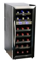 Whynter 21 Bottle Dual Temperature Zone Wine Cooler   BRAND NEW   Factory Sealed