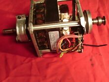 GE AUTOMATIC CLOTHES DRYER MOTOR 572D676G002          GENUINE GE PART