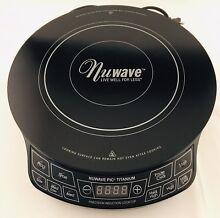 NuWave Precision Induction Cooktop  PIC  Titanium 30341 CQ With Carrying Case