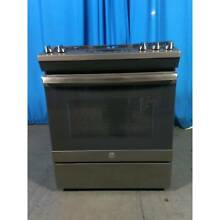 GE Appliances JGSS66EELES 30  Slide In Gas Range   Slate 41283317 41283317