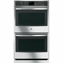 GE Profile Series PT7550SFSS 30  Electric Double Wall Oven w  True Convection