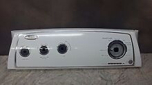 WHIRLPOOL CONTROL PANEL FACE PLATE W10251314