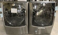 LG Signature Washer And Electric Dryer