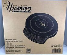NIB  Precision Nuwave 2 Induction Electric Portable Cooktop Model No  30151  TF
