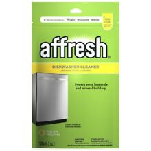 Dishwasher Kitchen Cleaner Tablet For Residue Minerals Deodorizer By Affresh NEW