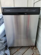Amana ADB1400AGS 24  Built in Full Console Dishwasher   Stainless Steel