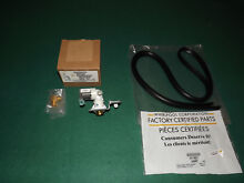 Dishwasher Inlet Water Valve W10158389 and Door Gasket W11196317 BRAND NEW