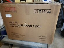 KOBE CH2730SQB 5 Deluxe 30  Under Cabinet Range Hood  6 Speed  See Pics