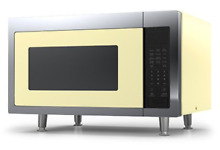 Big Chill Retro Microwave 1 6 cu  ft  1200 watts Buttercup Yellow