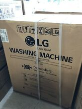 LG WM3488HW 24  White 120 V Front load Steam Washing Machine Dryer w Child Lock