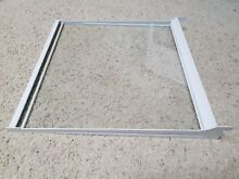 2179259 Whirlpool Kenmore Refrigerator Shelf Glass with frame