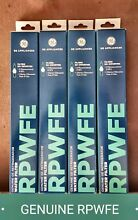 Ge Refrigerator Water Filters  Lot Of 4  Model Number  RPWFE