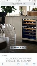 Sub zero wine refrigerator Under counter LOCAL pick Up Only