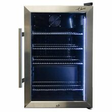 Glaros Ultra Energy Efficient 2 47CuFt Beverage Center  Stainless Steel